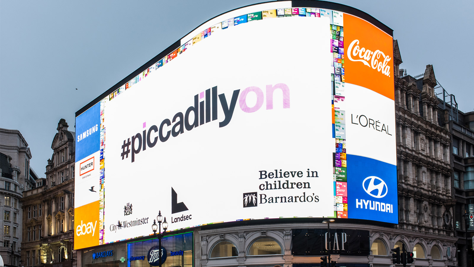 Piccadilly Lights, W1