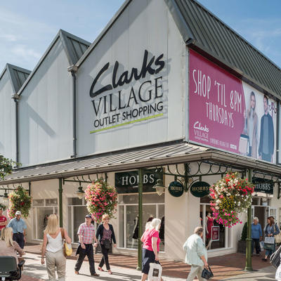 Clarks Village Outlet Shopping, Street