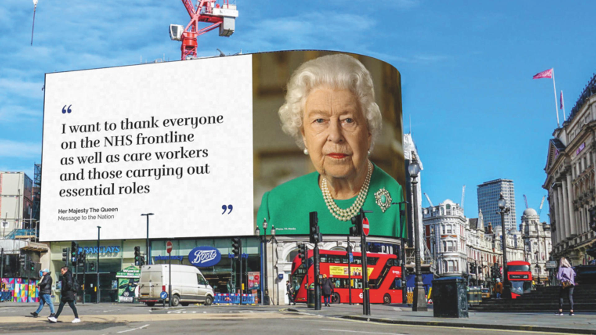 The Queen's Message to the Nation